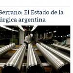 Enrique Dentice fue consultado por EnerNews sobre industria siderúrgica