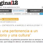 Entrevista a Juan Falú en Página/12