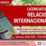 Nueva Licenciatura en Relaciones Internacionales