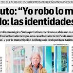 Entrevista a Mia Couto en Ámbito Financiero