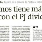 Entrevista a María Matilde Ollier en <i>El Economista</i>