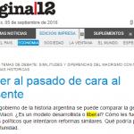 Francisco Cantamutto y Martín Schorr escriben para Página/12