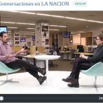 Enzo Tagliazucchi en el ciclo Conversaciones de La Nación