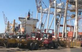 Visita a terminal Portuaria