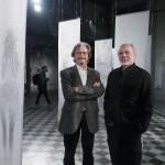 Carlos Ruta inauguró la muestra de Ricardo Abella en el Centro de las Artes UNSAM