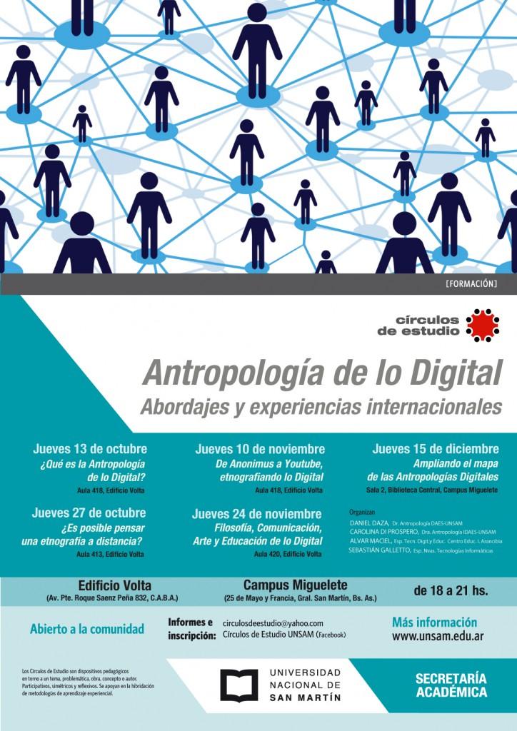 afiche antropologia digital