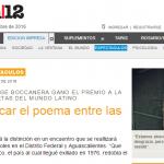 Entrevista a Jorge Boccanera en <i>Página/12</i>