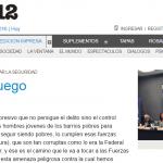 Paula Canelo en <i>Página/12</i> sobre el rol de las Fuerzas Armadas