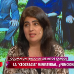 Ana Castellani habla en la TV Pública sobre la CEOcracia