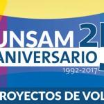UNSAM 25 aniversario: Última semana para la presentación de proyectos de voluntariado