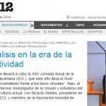 Fernando Peirone entrevistó a Ricardo Seldes para <i>Página/12</i>