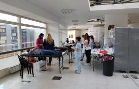 7.ª Jornada de Donación de sangre UNSAM