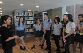 Estudiantes en la Biblioteca Central UNSAM