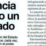 <i>Revista Apertura</i> consultó a Sabrina Ajmechet sobre la Maestría en Políticas Públicas