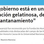 Entrevista a Marcelo Cavarozzi en <i>La Capital</i> de Rosario