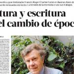 <i>Revista Ñ</i> entrevistó a Roger Chartier