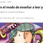 <i>La Nación</i> consultó a Beatriz Diuk sobre educación
