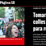 <i>Página/12</i> consultó a Verónica Gago sobre el Día Internacional contra la Violencia Machista