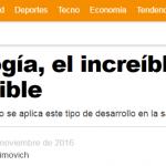 Entrevista a Galo Soler Illia en <i>Infobae</i>