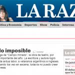 Entrevista a Lola Arias en <i>La Razón</i>
