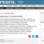 <i>Perfil</i> consultó a Roger Chartier y a Fernando Peirone sobre las nuevas tecnologías de la comunicación