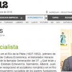 Entrevista a Horacio Tarcus en <i>Radar Libros</i>