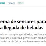 <i>La Nación</i> publicó una nota de la Agencia TSS