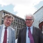 Roger Chartier y Carlo Ginzburg en <i>Página/12</i>