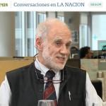 José Emilio Burucúa en el ciclo Conversaciones de <i>La Nación</i>