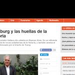 La revista <i>Ñ</i> entrevistó a Carlo Ginzburg