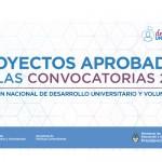 El Ministerio de Educación seleccionó 21 proyectos UNSAM en las convocatorias de la SPU