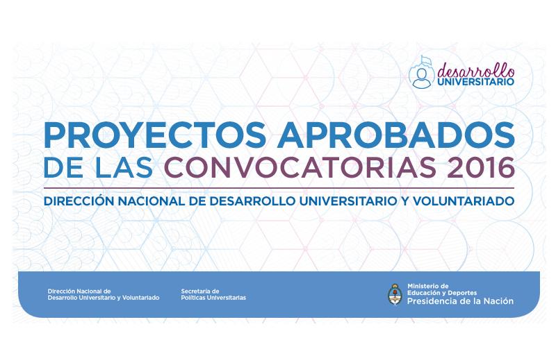 El ministerio de educaci n seleccion 21 proyectos unsam for Convocatoria docentes 2016 ministerio de educacion