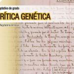 Seminario optativo de grado: La Crítica Genética