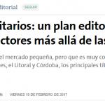 <i>La Nación</i> destacó el trabajo del sello UNSAM Edita