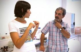 Hermida y Cannas en el Lab3BIO