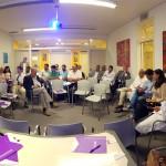 La EEyN organizó un desayuno de trabajo en el Centro Asistencial Universitario