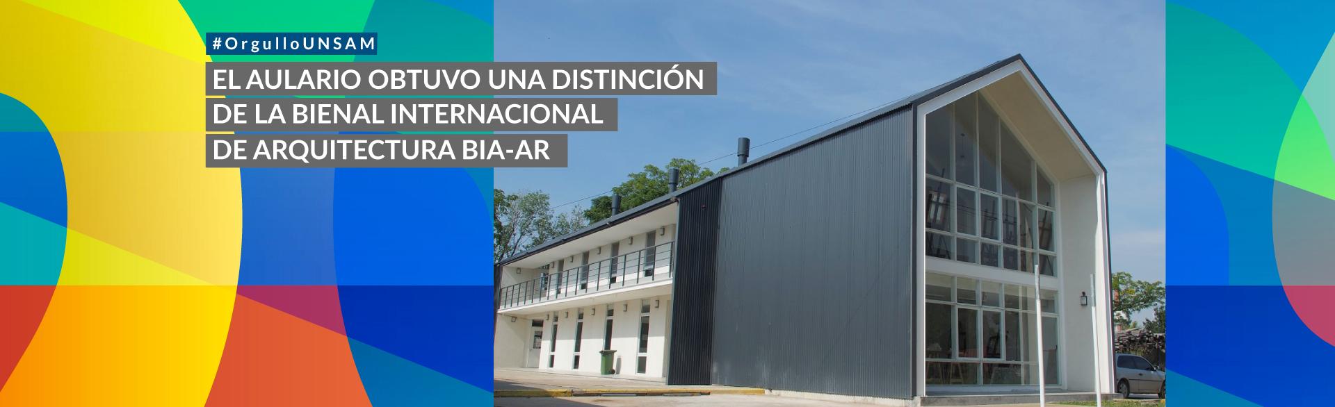 El Aulario obtuvo el primer premio de la Bienal Internacional de Arquitectura BIA-AR