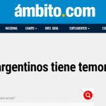Nota en <i>Ambito.com</i> sobre el último informe del CETyD