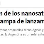 <i>La Nación</i> consultó a Livio Grattón sobre nanosatélites