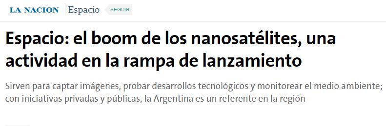nanosatelites