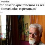 Entrevista a Luis Tedesco en <i>Clarín</i>