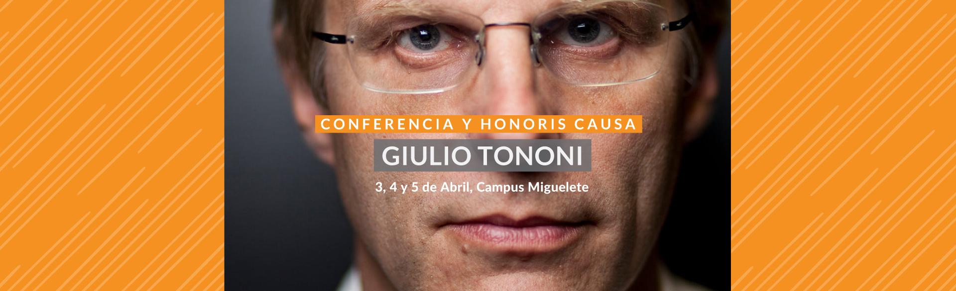 Giulio Tononi en la Argentina
