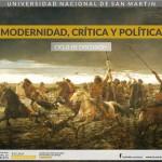 Ciclo de discusión: Modernidad, Crítica y Política