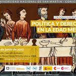 """Coloquio Internacional """"Política y Derecho en la Edad Media"""""""