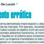 Juan Matías de Lucchi escribe para <i>Página/12</i>