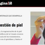 Élida Hermida habló con <i>Página/12</i> sobre Biomatter