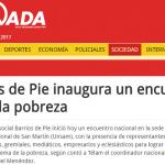 <i>Diario Jornada</i> en el encuentro que Barrios de Pie realizó en la UNSAM
