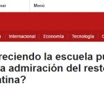 <i>BBC Mundo</i> consultó a Eduardo Langer sobre educación pública