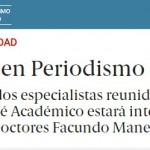Bruno Massare integra el plantel docente de la nueva Diplomatura en Periodismo Científico de la Editorial Perfil
