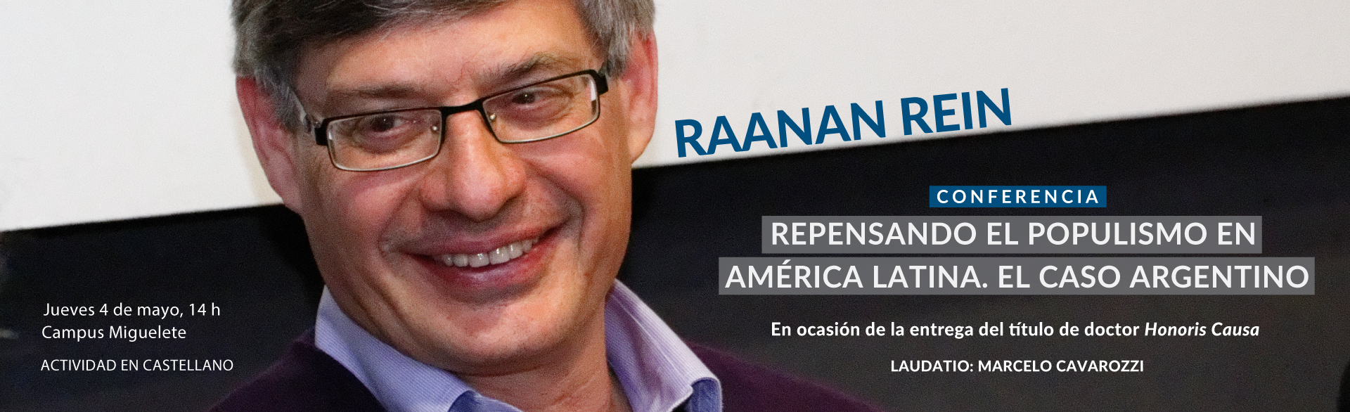 Raanan Rein Honoris Causa